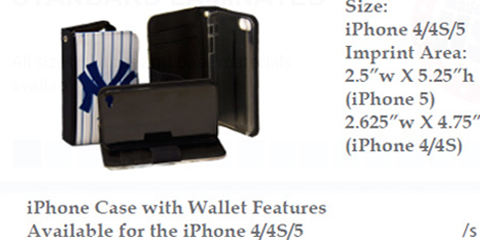 iPhone Case with Wallet Features